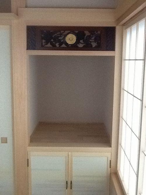 仏壇彫刻欄間
