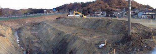 久之浜公営住宅工事開始