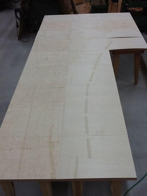 久之浜地図1/500 5m×1.8m